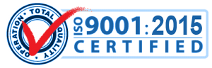 ETI is proud to be fully ISO 9001 Certified